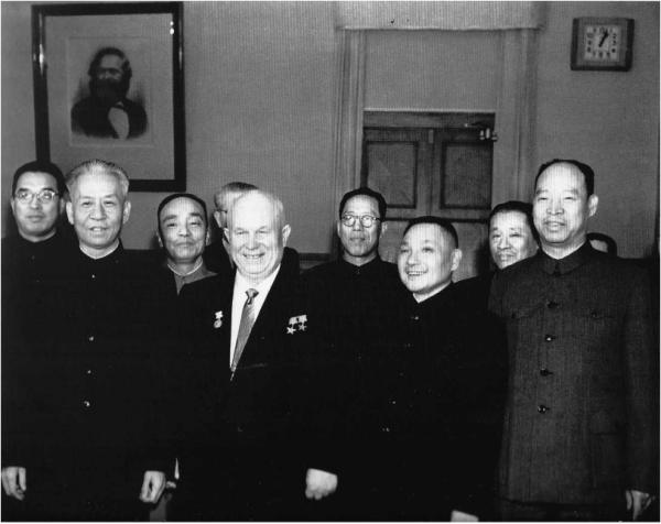 Deng and Khrushchev in 1960