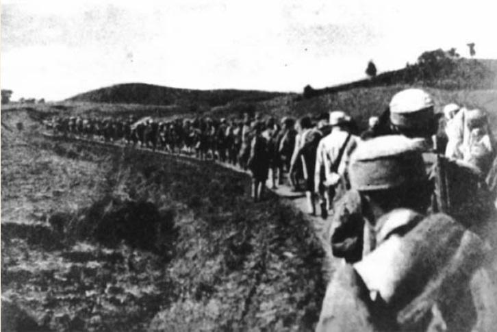 Changchun-troops
